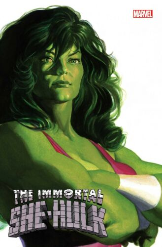 MARVEL COMICS 2020 HULK ALEX ROSS TIMELESS VARIANT NM IMMORTAL SHE-HULK #1