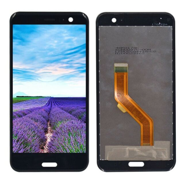 Replacement Display LCD Complete Unit for HTC U11 Repair Black New Top