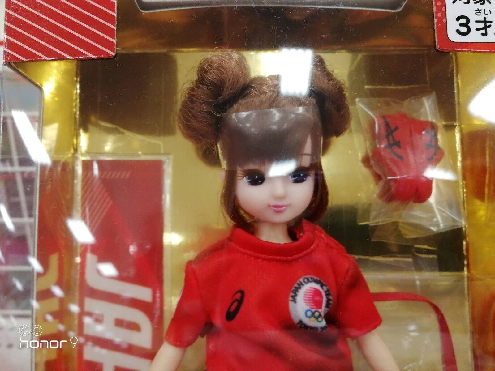 TAKARA TOMY Licca doll JOC OFFICIAL LICENSED PRODUCT Supporter TOKYO 2020 Japan
