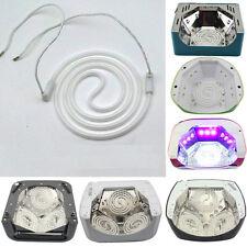 1PCS 12W Professional Nail Art Tools Spiral Tube UV CCFL Nail Therapy