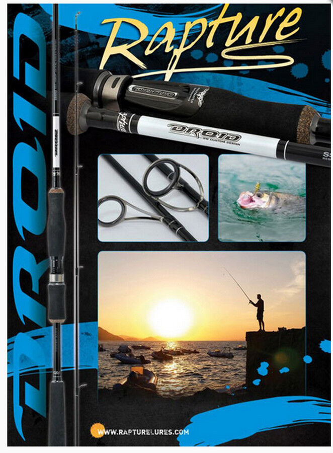 Rapture Droid new concept spinning rods  2.1 and 2.4m  3 actions highest quality