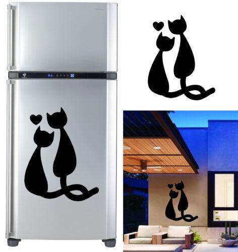 high quality outdoor LOVE CATS VINYL STICKER indoor /> 10 years