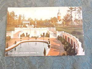 1905-10 Sunken Gardens Georgian Court Lakewood New Jersey NJ Post Card
