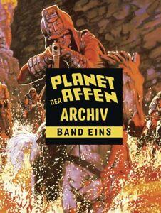 PLANET-DER-AFFEN-ARCHIV-1-Hardcover-Gesamtausgabe-DOUG-MOENCH-Cross-Cult-MARVEL
