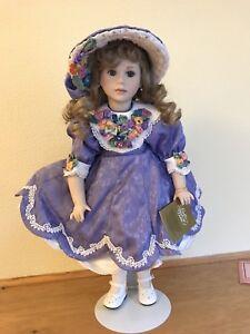 Vintage China Doll Franklin Heirloom Dolls Artist Jan Doehring Ebay