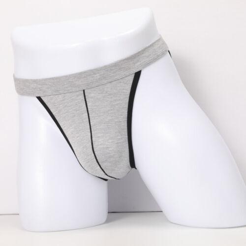 Men Briefs Underwear Underpants Bulge Pouch Fashion Briefs Slim Plus Size Thong