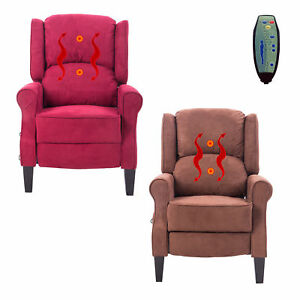Attrayant Image Is Loading Deluxe Massage Recliner Chair Heated Sofa Ergonomic Lounge