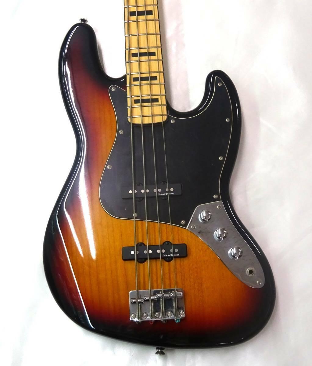 Squier by Fender V MOD FSR JB70 JAPAN beautiful rare EMS F S