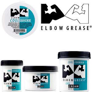 Elbow Grease Creme Cool Kühler Anal, Sex Gleitmittel / Gleitgel