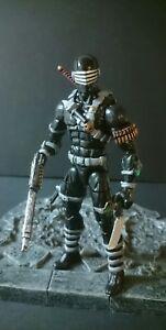 Marvel Legends Custom G.i.   Joe Snake Eyes Peinture Et Accessoires