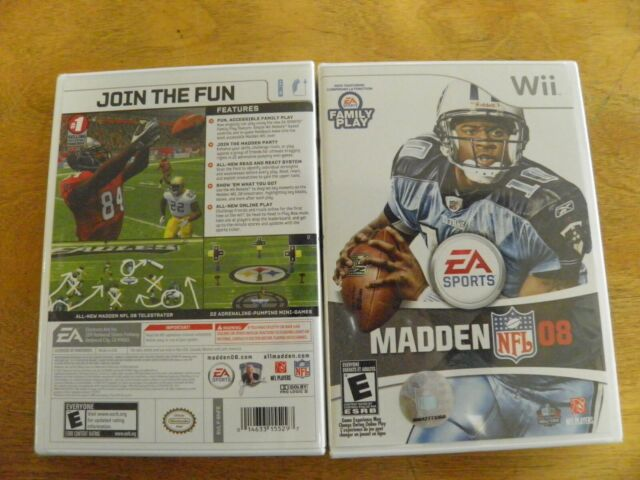 Madden NFL 08 - Nintendo  Wii Game new sealed