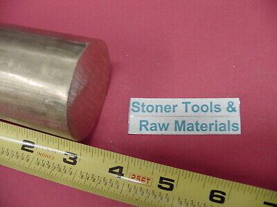 "4/"" C360 BRASS ROUND ROD 12/"" long Solid 4.00/"" OD H02 Lathe Bar Stock Half Hard"
