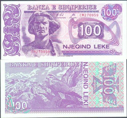 Banknote UNC Albania 1994,100 leke