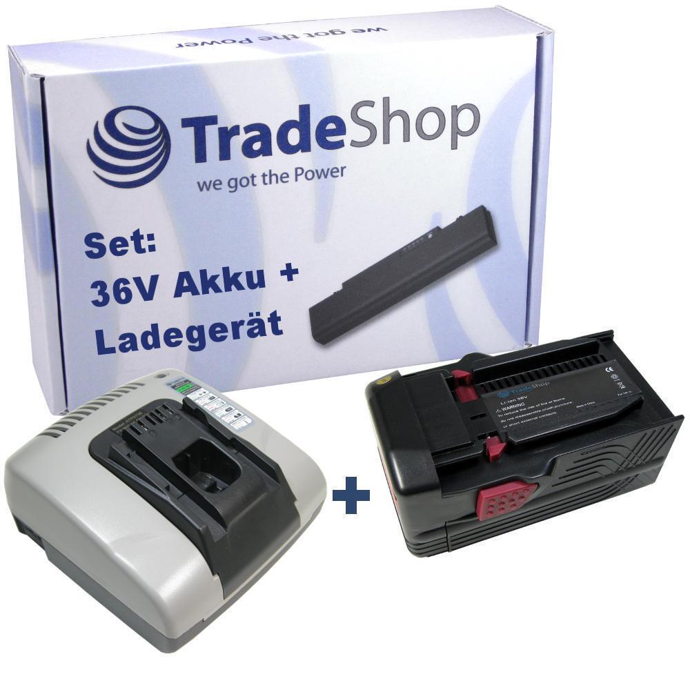 LADEGERÄT Ladestation mit USB + AKKU 36V 4500mAh Li-Ion für Hilti TE6A TE7A B36