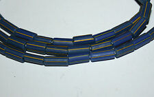 Old Venetian blue striped trade beads