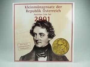 Schilling-KMS-OSTERREICH-2001-HGH-Austria-Coin-Set-Kursmuenzensatz-vor-Euro