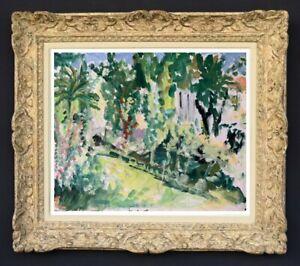 Raya-safir-1909-2004-fauve-landscape-painting-of-provence-1950-172