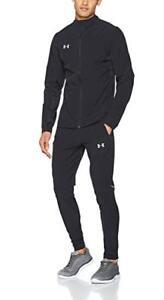 5271163eceb61 UA suit black Under Armour Challenger Knit Warm-Up large L Tracksuit ...