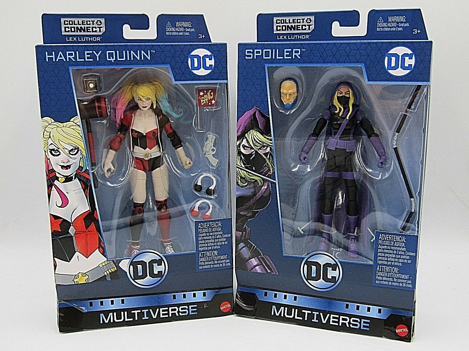 DC Multiverse Spoiler & Harley Quinn Baf Lex Detective Comics