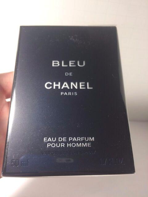 Chanel Bleu Men s Eau de Parfum Pour Homme 1.7 OZ   50 ML In Retail Box b787979b6