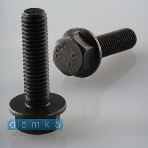 10 X FLANGIA BULLONE m8x30 18mm esagonale
