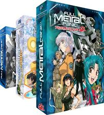 ★Full Metal Panic!★ La Trilogie - Edition Collector - 3 Coffrets DVD