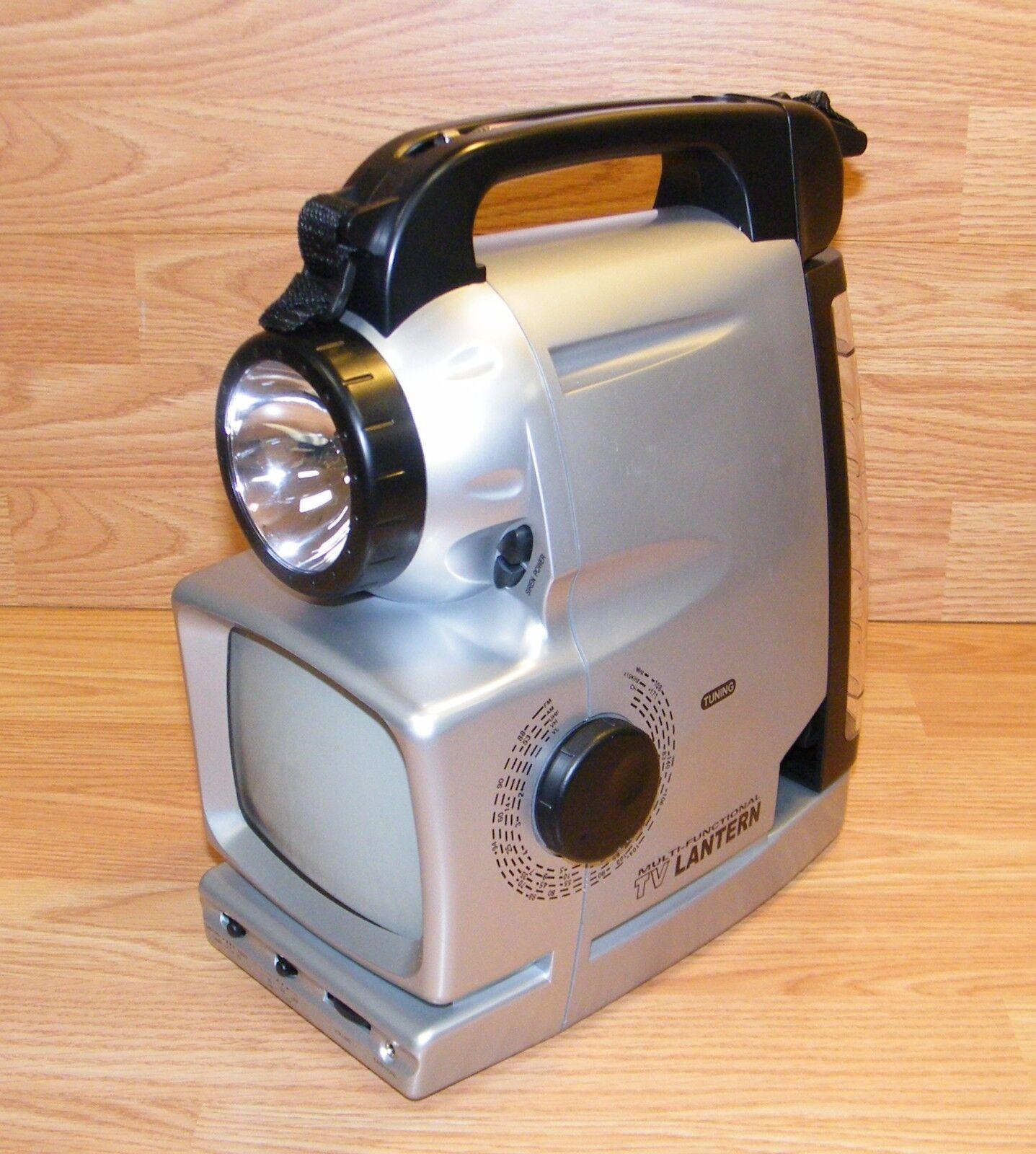 Unbranded (LT631-D)  5 in 1 Multi Functional 5  TV Radio Lantern w  Siren & Flash  not to be missed!