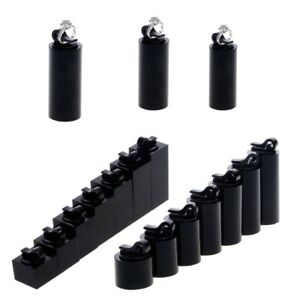7Pcs-Black-Acrylic-Finger-Ring-Display-Stand-Holder-Jewelry-Showcase-Decor