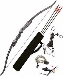 NEW-PSE-PRO-MAX-Recurve-Bow-Package-62-034-35lb-RIGHT-handed