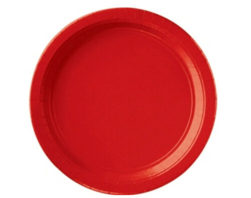 SmallParty Tableware Supplies SALE 8 Apple Red Paper Plates