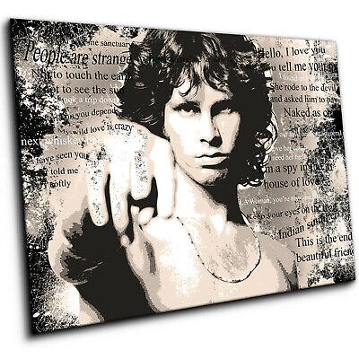196323 Jim Morrison The Doors Wall Print Poster UK