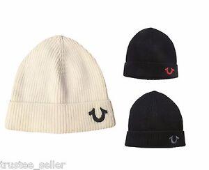 True Religion Fashion Unisex Women Men Cashmere Knit Winter Cap Hat ... 0f040c1a92f