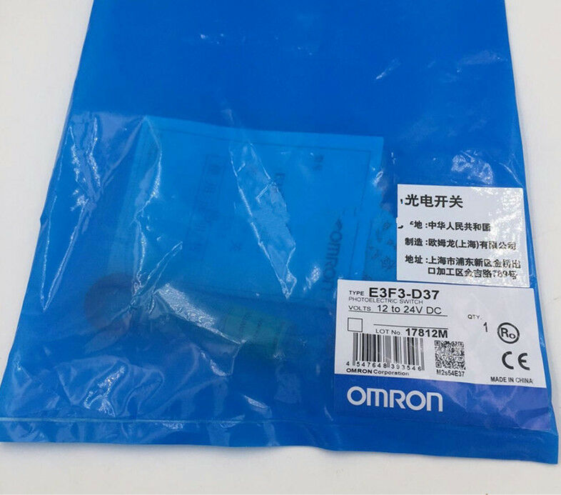 1Pcs New Omron photoelectric switch E3F3-D37 12-24VDC