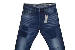 DIESEL-TEPPHAR-084BW-SLIM-CARROT-JEANS-W33-L32-100-AUTHENTIC