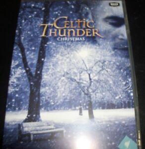 Celtic Thunder Christmas.Celtic Thunder Christmas Australia All Region Dvd Like