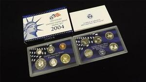 2004-S-US-Mint-Proof-11-Coin-Set