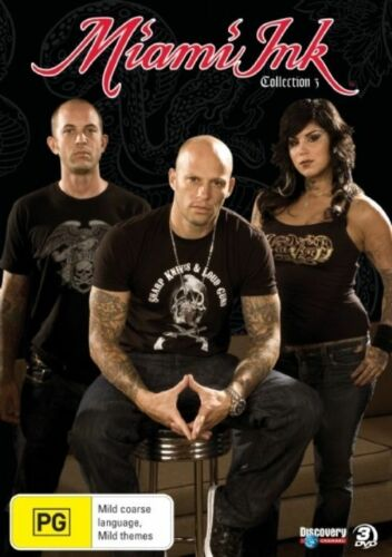 1 of 1 - Miami Ink : Collection 3 (DVD, 2007, 3-Disc Set)