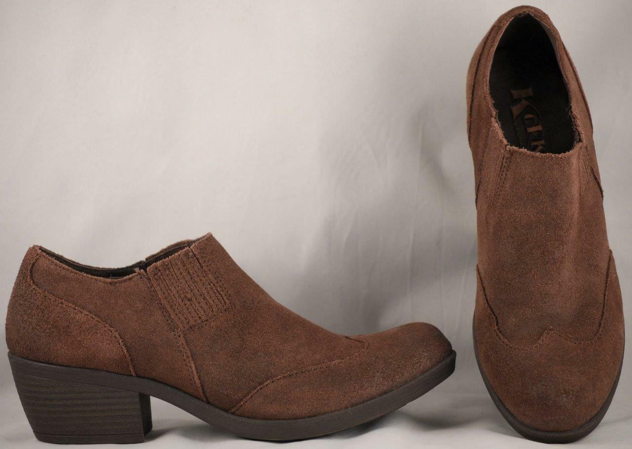 Women's Korks by Kork-Ease Brown Suede Ankle Boots 7 M
