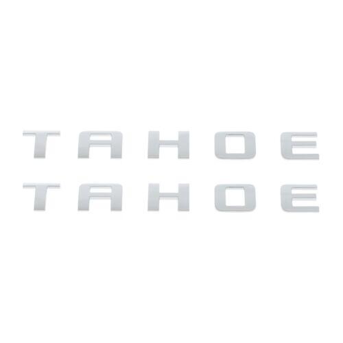 OEM Front Door or Tailgate Set of 2 Tahoe Emblem Badge 07-18 Chevrolet 15825693