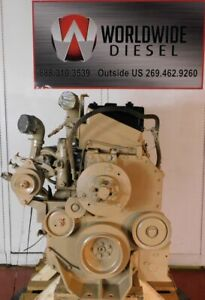 1992-Cummins-L10E-Diesel-Engine-330HP-Approx-271K-Miles-All-Complete