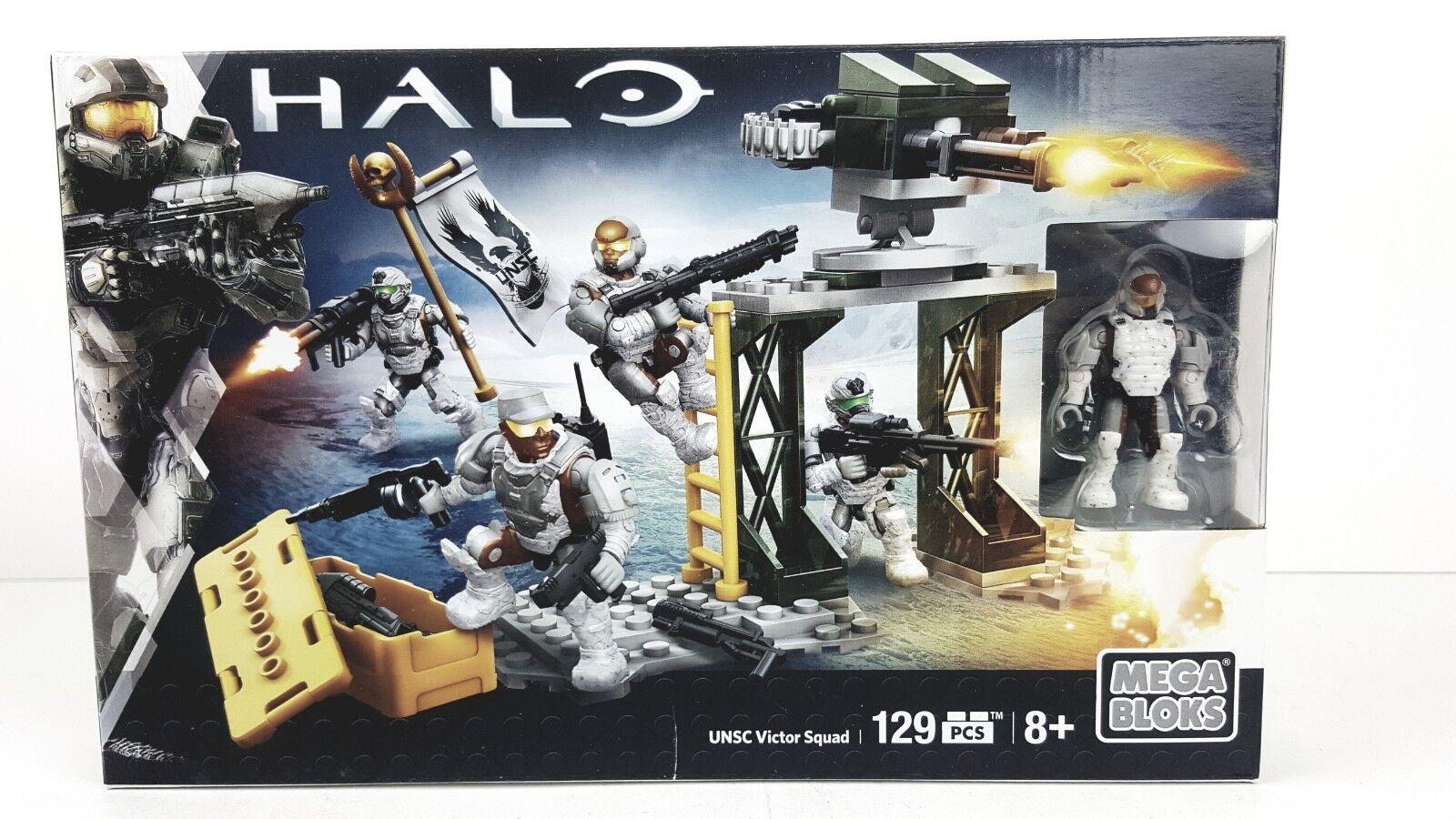 Mega Bloks Halo UNSC Victor Squad 129 Pcs NEW