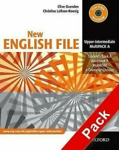 New-English-File-Upper-Intermediate-MultiPACK-A-by-Oxenden-Clive