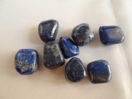 lapis lazuli pierres roulées 8 pièces pour 50 grs d'Afghanistan 7c8