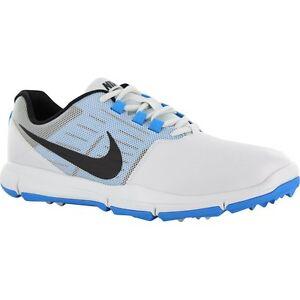 NIKE EXPLORER CONTROL SL Golf Shoes MENS Pure Platinum Blue 704694 004 NEW