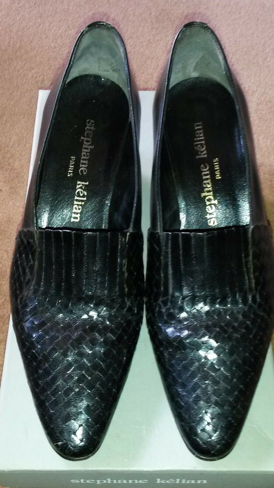 STEPHANE KE`LIAN Pumps, schwarz ,Gr. 4 1 2 - Original