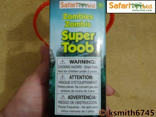 Safari Zombie TOOB Jouet morts-vivants Fantasy Horreur Tube Paquet De 12 NOUVEAU