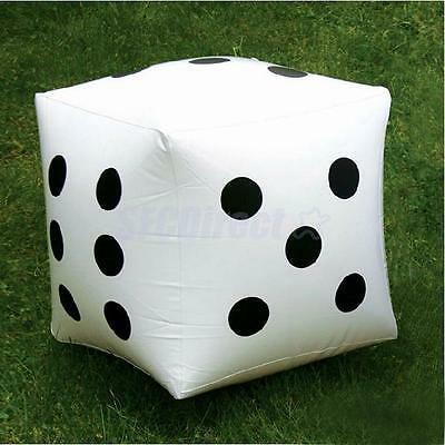 2 Giant Inflatable Blow-up Dot Dice 12.6 inch Children Party Favour Kid Pool Toy