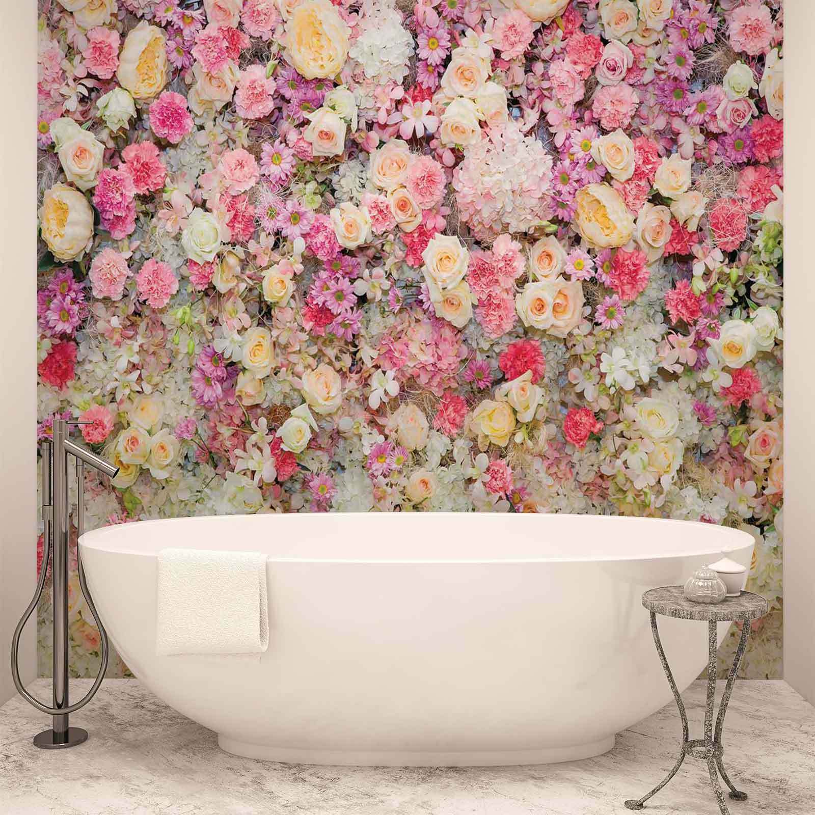 WALL MURAL PHOTO WALLPAPER XXL Beautiful Flowers Pastel Colours (3102WS)