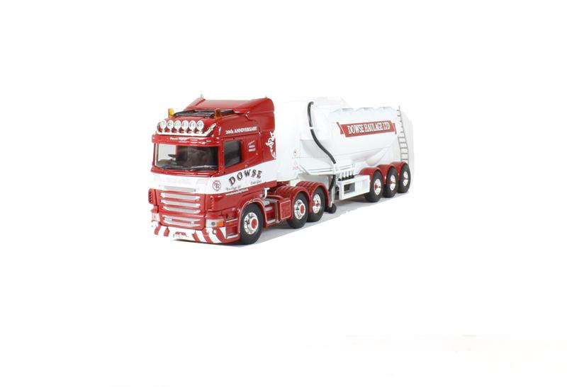CORGI MODERN Heavy CC13769 SCANIA R Dowse TANKER 1 50