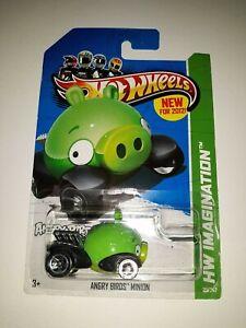 2012 Hot Wheels #35 HW Imagination New Models Angry Birds Minion